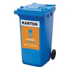 Papier/karton 240 liter