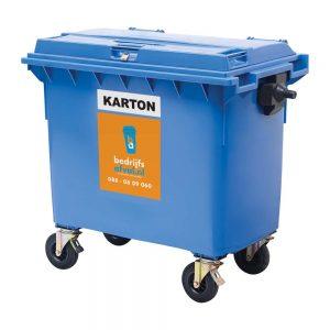 Papier/karton 660 liter