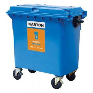 Papier/karton 770 liter