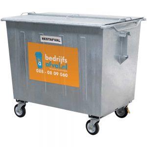 Restafval 1600 liter