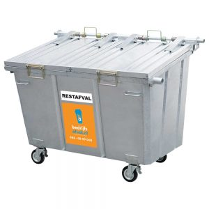 Restafval 2500 liter