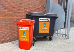 Restafvalcontainer en PMD